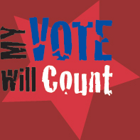 My vote counts, so does yours!
